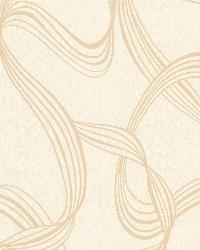 Aria Gold Ribbon Swirl by