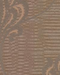 Orfeo Brown Nouveau Damask by
