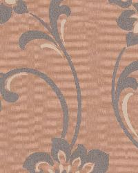 Sharon Copper Jacobean Floral by