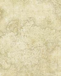 Hardings Beige World Map by  Brewster Wallcovering