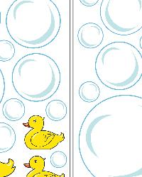 Bubble Ducks Wall Decals by