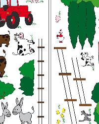 The Farm Wall Decals by