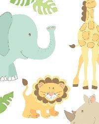Safari Buddies Large Wall Art Kit by