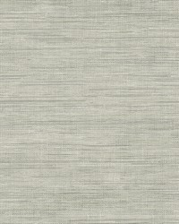Island Grey Grasscloth Wallpaper by