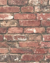 Loft Red Brick Wallpaper by