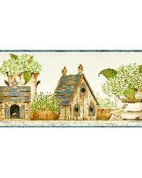 Neutral Cottage Garden Border by