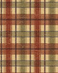 Cherry Wooden Plaid by