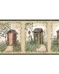 Neutral Outhouses Border by