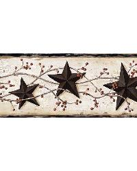 Ebony Heritage Tin Star Border by