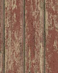 Red Weathered Clapboards by