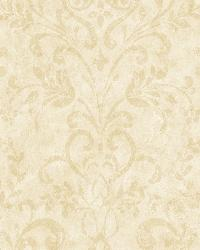 Beige Country Damask by