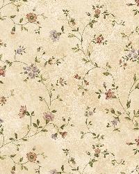 Cream Antique Floral Vine by