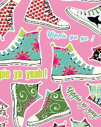 Sneakers Wall Decals by