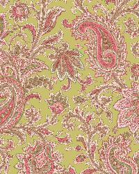 Sadie Green Paisley Swirl Wallpaper by