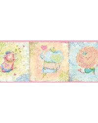 Lucies Pink Circus Border by