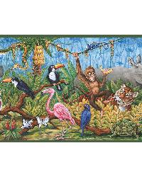 Nathaniel Green Swinging Jungle Border by
