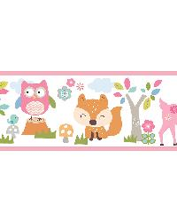 Leo Pink Country Club Border by