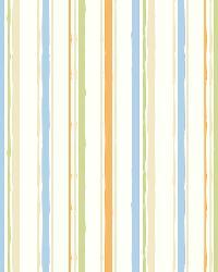 Macey Orange Wiggle Stripe by