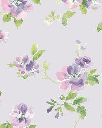 Captiva Lavender Floral Toss by