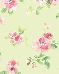 Captiva Mint Floral Toss by