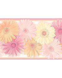 Becca Pink Daisy Chain Border by