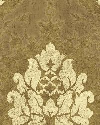 Brown Haven Damask by