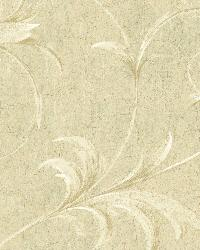 Cream Ogee Acanthus Scroll by