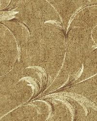 Yellow Ogee Acanthus Scroll by