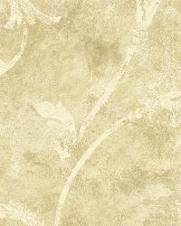 Yellow Silver Scroll  by