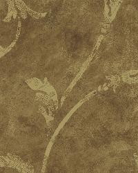 Copper Silver Scroll  by