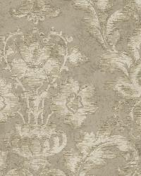 Light Grey Fusion Damask by