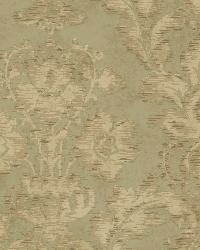 Green Fusion Damask by