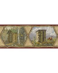 Francis Wheat Privy Collection Border by