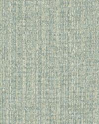 Bennet Blue Faux Linen Fabric Wallpaper by  Brewster Wallcovering