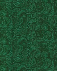 Malachite Green Stone Tile by  Brewster Wallcovering
