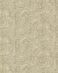 Malachite Beige Stone Tile by  Brewster Wallcovering