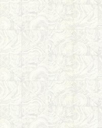 Malachite Cream Stone Tile by  Brewster Wallcovering