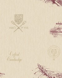 Varsity Maroon Row Boat Wallpaper by