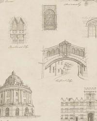 Estate Gold Illustration Wallpaper by