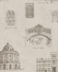 Estate Grey Illustration Wallpaper by