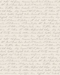 Emeritus Beige Calligraphy Wallpaper by