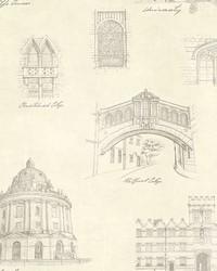 Estate Cream Illustration Wallpaper by