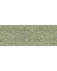 Alfred Aqua Paisley Border by