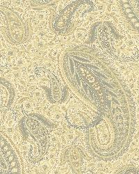 Nathaniel Beige Modern Paisley by