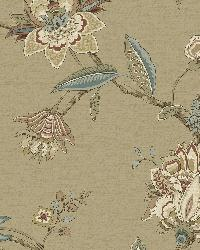 Monaco Beige Jacobean Trail by