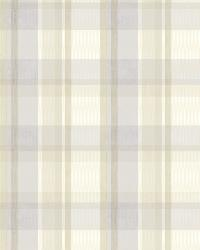 Bennetts Purple Sunday Plaid by  Brewster Wallcovering