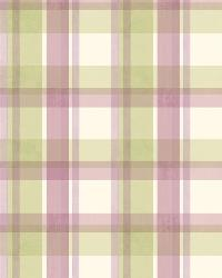 Bennetts Green Sunday Plaid by  Brewster Wallcovering