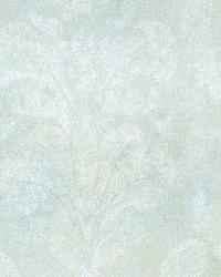 Penshurst Blue Tearose Damask by  Brewster Wallcovering