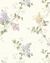 Ascott Purple Lilac Trail by  Brewster Wallcovering
