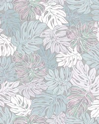 Cedar Grey Botanical Wallpaper by